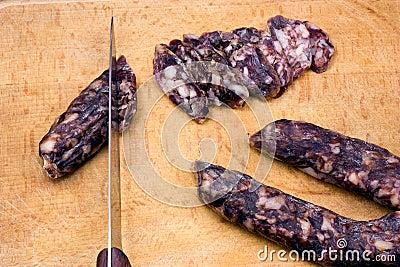 Home-made salami