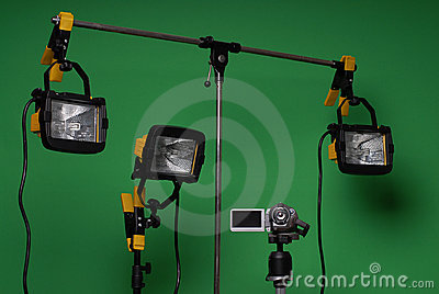 Home made video studio