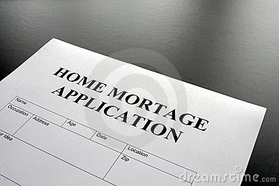 Home mortage application