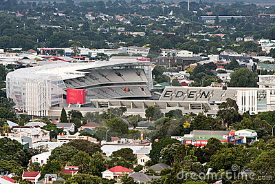 Home of NZ rugby - Eden Park, Auckland. Editorial Image