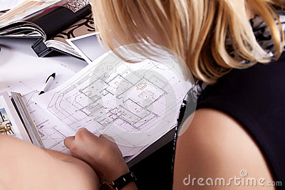 Home plan in work