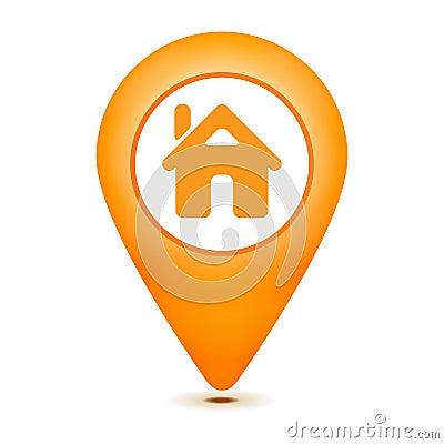Free Home Pointer Icon Stock Image - 28781171