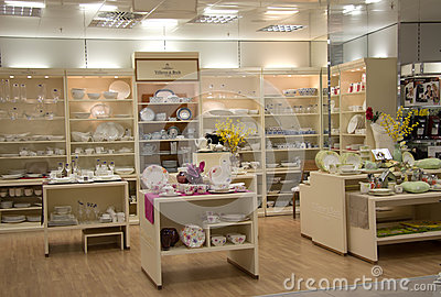 Home products shop Editorial Image