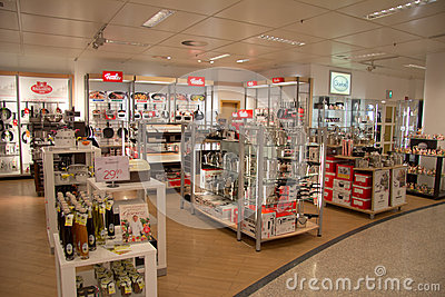Home products shop Editorial Stock Image