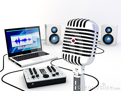 Phenomenal Home Recording Studio Equipment Stock Photos Images Pictures Largest Home Design Picture Inspirations Pitcheantrous