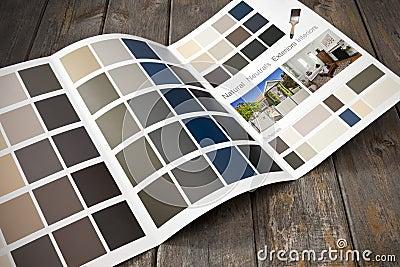 Home Renovation Paint Brochure Decoration