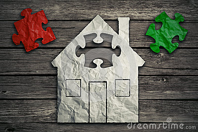 Home repair concept. Real estate housing industry Stock Photo
