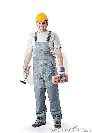 Free Home Repair Man  Royalty Free Stock Photo - 25210355
