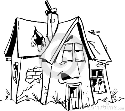 Home Repair Real Estate Cartoon Vector Clipart Stock ...