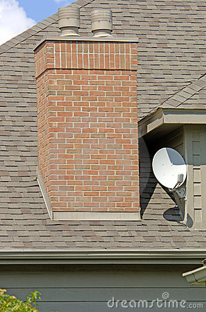 Free Home Satellite Dish Royalty Free Stock Photography - 185627