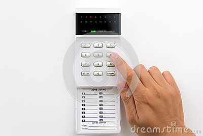 Home Security Alarm Stock Photos - Image: 29006563