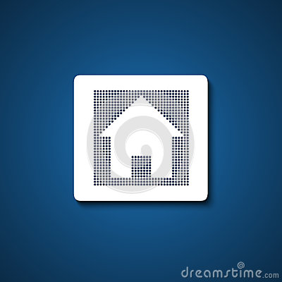 Home sign / button