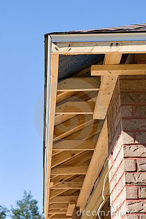 Free Home Soffit Framing Stock Images - 12798194