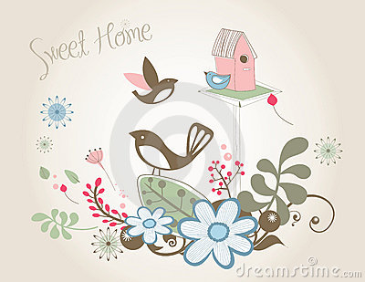 Home Sweet Home Royalty Free Stock Images  Image: 15440919