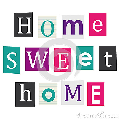 Free Home Sweet Home. Royalty Free Stock Photo - 39835875