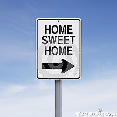 Free Home Sweet Home Stock Photo - 57825000