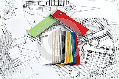 home symbol, plans & plastics