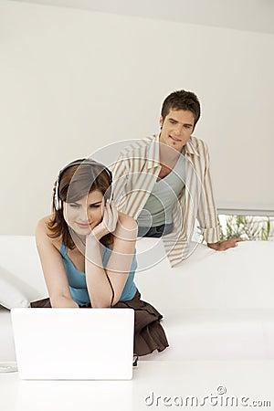 Home Tech Living Roo,