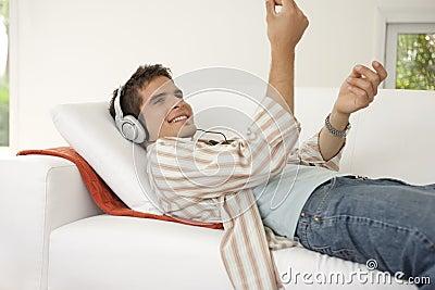 Home Tech Man Clicking Fingers