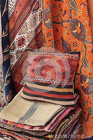 Home textile in Istanbul, Turkey