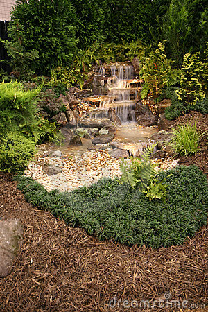 Free Home Water Feature Royalty Free Stock Image - 1315786