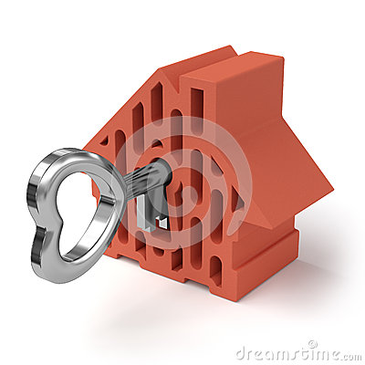Free Home With Key Stock Photography - 35527012
