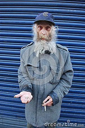 Free Homeless Royalty Free Stock Photo - 46521135