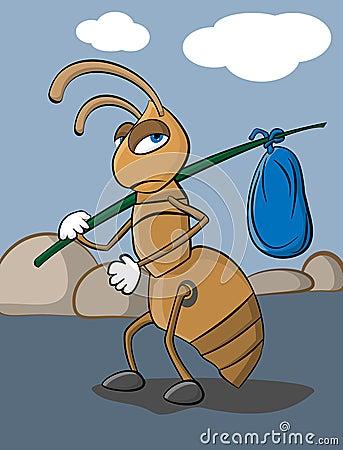 Homeless Ant