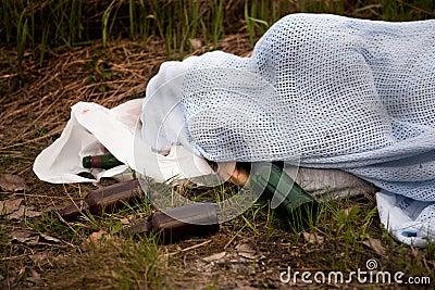 Homeless Drunk