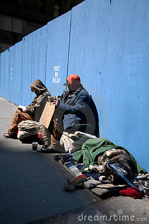 Free Homeless In Manhattan Stock Images - 694904