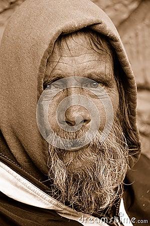 The Homeless Man Look