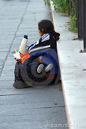 Free Homeless V Stock Photo - 455750