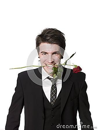 """""""PvP""""   O Mais Chato Vence Homem-com-uma-rosa-em-sua-boca-9227438"""