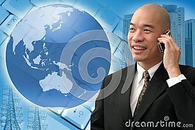 Homem de negócio chinês