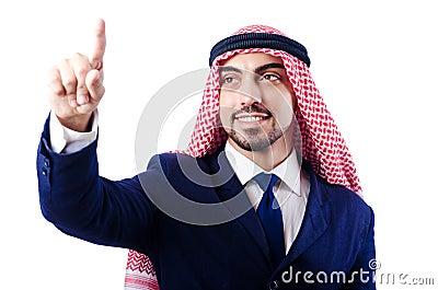 Homem de negócios árabe