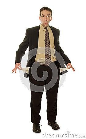 Homem de negócios isolado