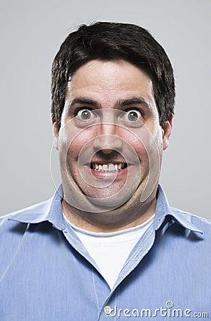 Download Homem Ecedente Ecitado Foto De Stock Imagem