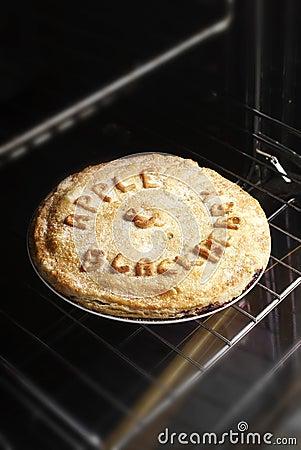 Homemade Blackberry and Apple Pie.