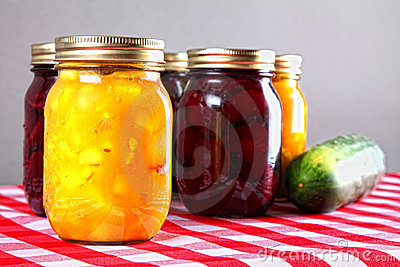 Homemade Bottled Preserves