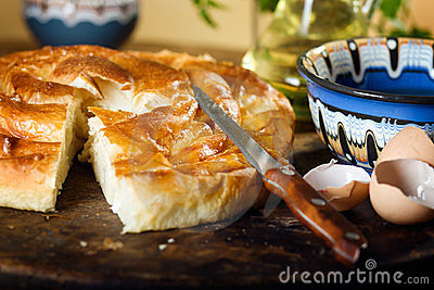 Homemade cheese pastry