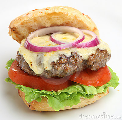 Homemade Cheeseburger