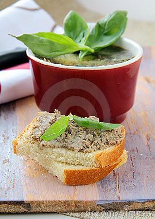 Free Homemade Chicken Liver Pate Stock Photography - 17823772