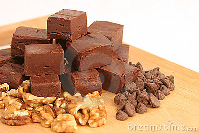 Homemade Chocolate Fudge 1