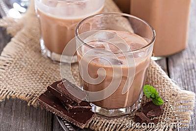 Homemade Chocolate Liquor Stock Photo - Image: 40974413