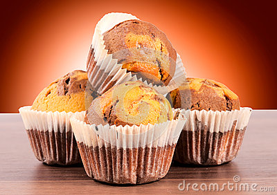 Homemade cup cakes