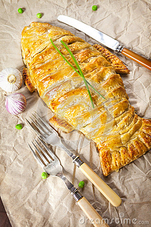 Free Homemade Fish Pie Royalty Free Stock Images - 57112889