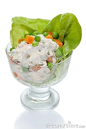 Homemade French Salad