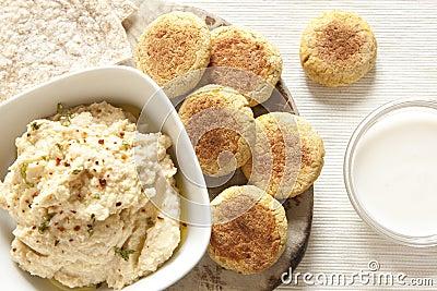 Homemade Hummus and Falafel
