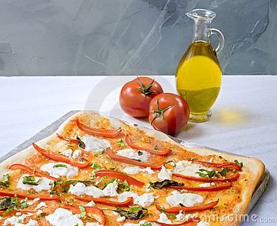 Homemade Pizza Stock Photos - Image: 8667323