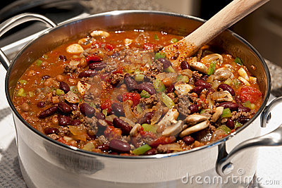 Homemade Pot Of Chilli